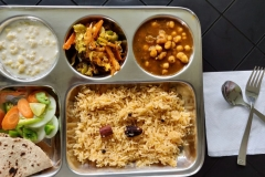 yoga teacher training india - Meal